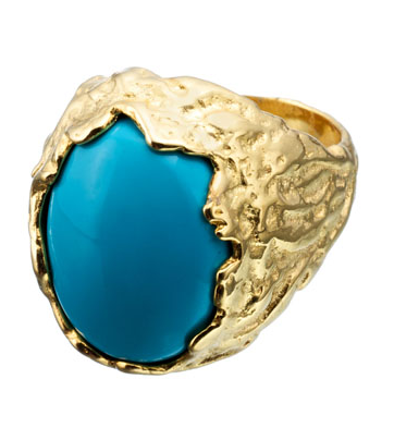 Vermeil Sculpted Ring